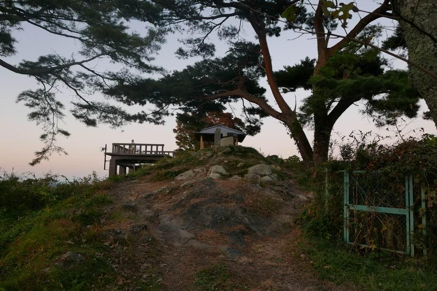 大高森展望台の写真