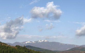 栗駒山夏の風景