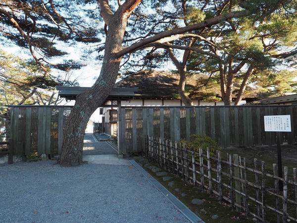 松島観欄亭の入り口の風景写真