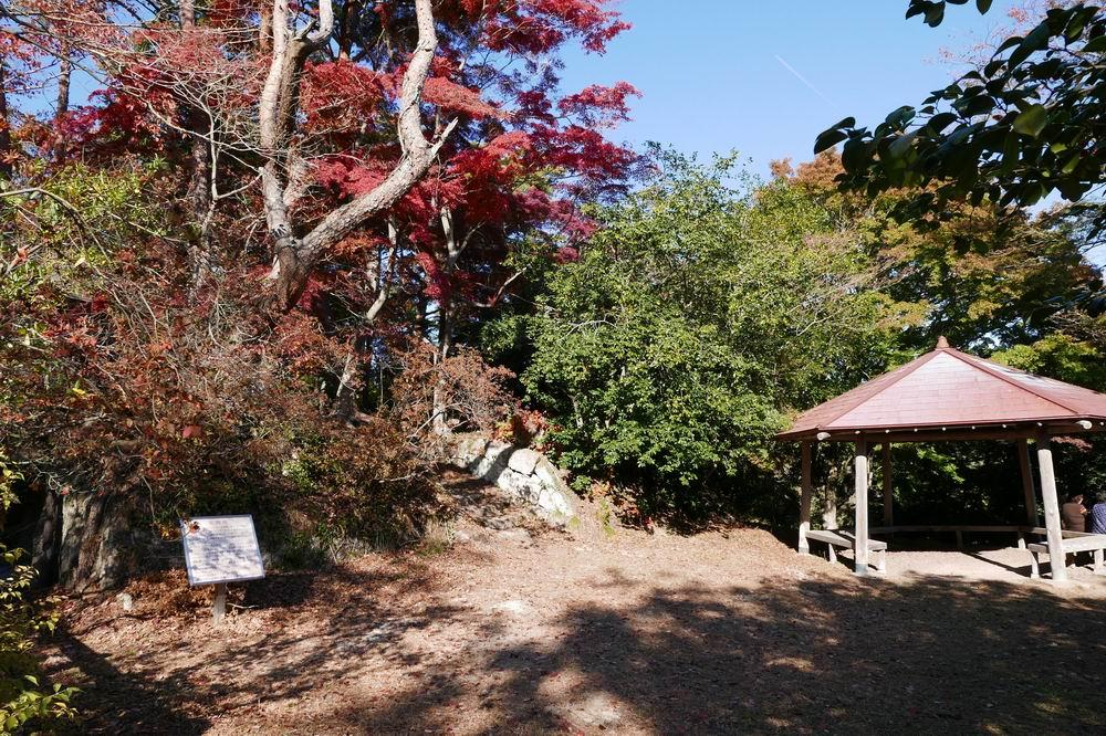 扇谷(幽観)への登り歩道写真
