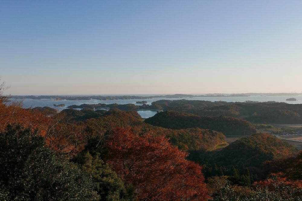 松島四大観麗観(富山)の絶景紅葉写真1
