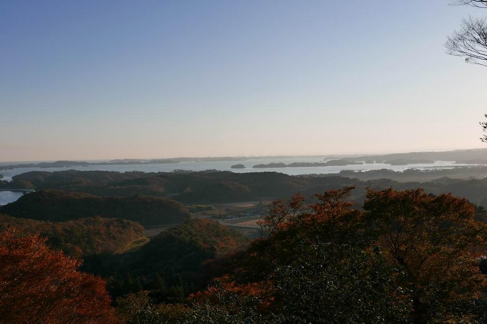 松島四大観麗観(富山)の絶景紅葉写真2