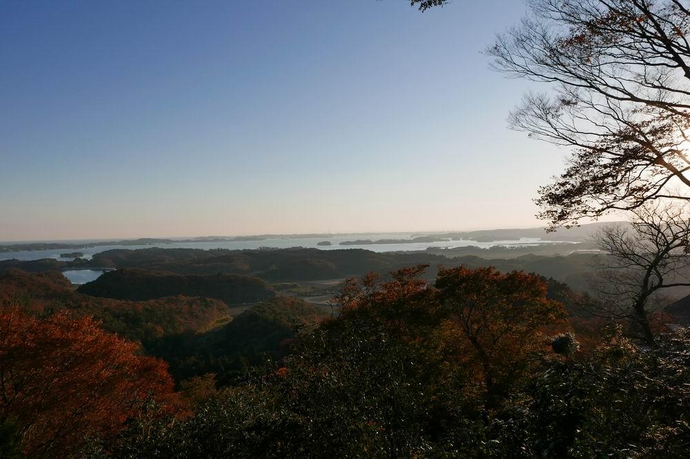 松島四大観麗観(富山)の絶景紅葉写真3