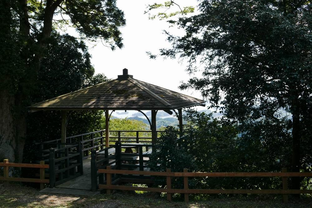 松島四大観麗観(富山)の物見のあずまや写真