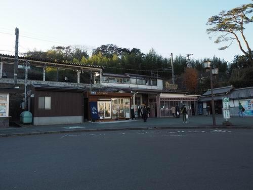 松島海岸駅の全景風景写真