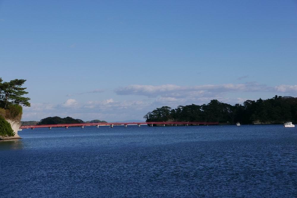 福浦大橋の風景