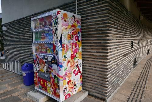石ノ森章太郎ふるさと記念館園内自動販売機