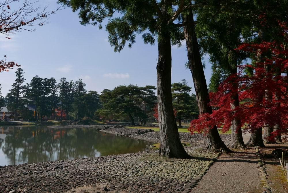 毛越寺大泉ヶ池周辺観光写真