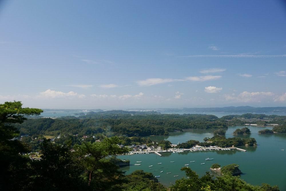 松島四大観大高森の風景写真