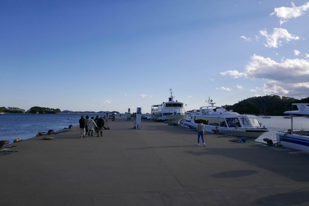 松嶋遊覧船乗り場風景写真2
