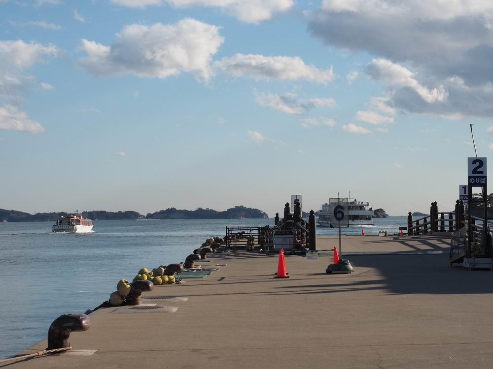松嶋遊覧船乗り場風景写真1