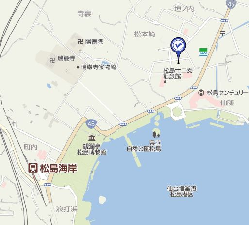 松島さかな市場の地図