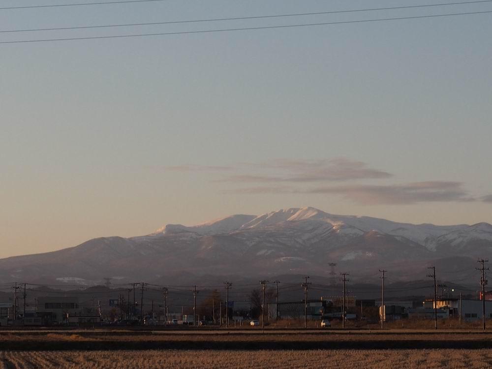 栗駒山2017年末12月31日の風景