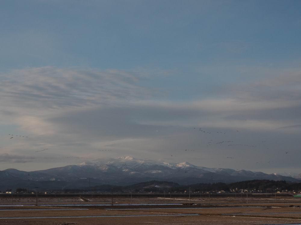栗駒山1月2日の風景