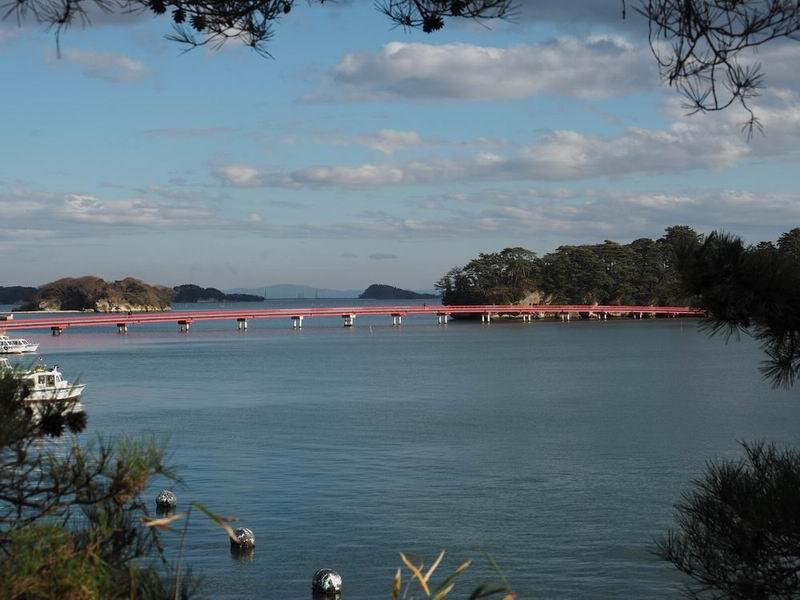 松島福浦橋の写真風景