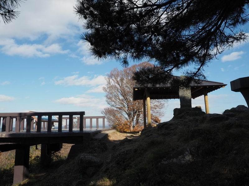 松島大高森の展望台の風景写真