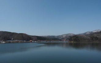 荒砥沢ダムの風景写真