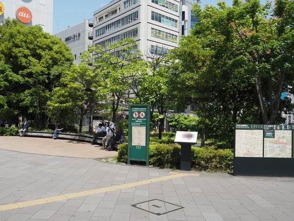 仙台駅東口車での待ち合わせ場所